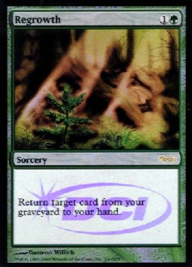 Regrowth - Foil DCI Judge Promo