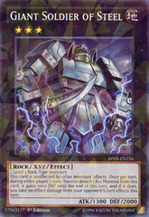 Giant Soldier of Steel - BP03-EN126 - Shatterfoil - 1st Edition