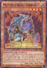Mythical Beast Cerberus - BP03-EN018 - Shatterfoil - 1st Edition
