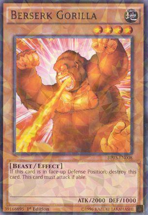 Berserk Gorilla - BP03-EN008 - Shatterfoil - 1st Edition