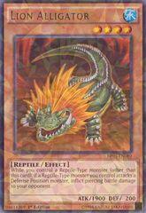 Lion Alligator - BP03-EN089 - Shatterfoil - 1st Edition