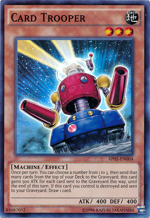 Card Trooper - AP05-EN004 - Super Rare - Unlimited Edition