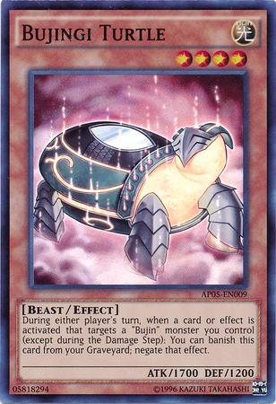 Bujingi Turtle - AP05-EN009 - Super Rare - Unlimited Edition