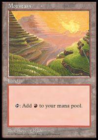 Mountain - APAC Set 1 (Red Pack)
