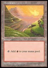 Mountain - APAC Set 1 Red: Philippines on Channel Fireball