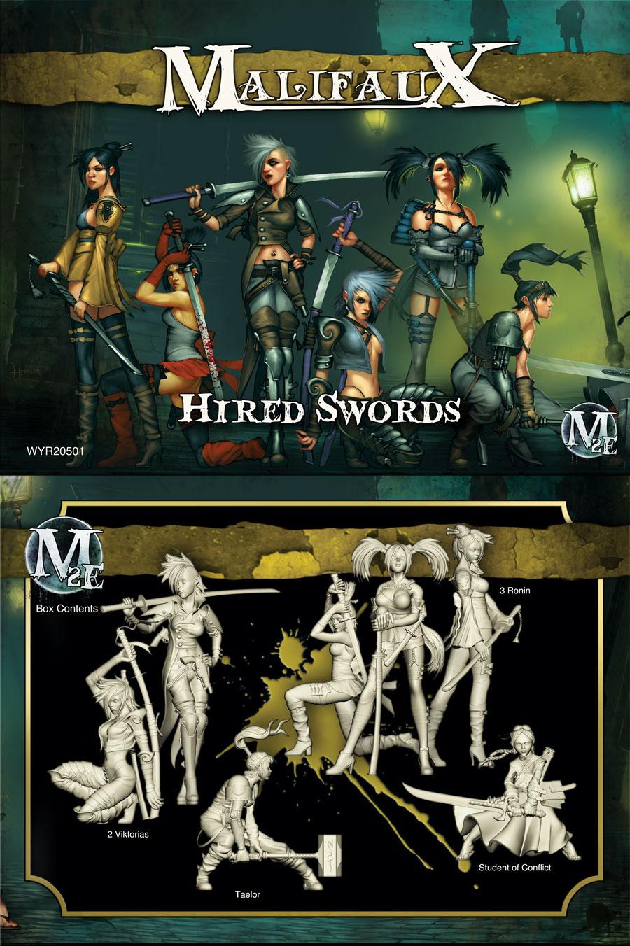 Hired Swords - Viktoria Box Set