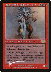Tahngarth, Talruum Hero PROMO - Alternate Art Foil