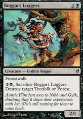 Boggart Loggers on Channel Fireball