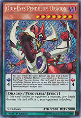 Odd-Eyes Pendulum Dragon - DUEA-EN004 - Secret Rare - 1st Edition on Channel Fireball