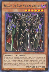 Breaker the Dark Magical Warrior - DUEA-EN040 - Rare - 1st Edition on Channel Fireball