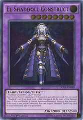 El Shaddoll Construct - DUEA-EN049 - Ultimate Rare - 1st Edition on Channel Fireball