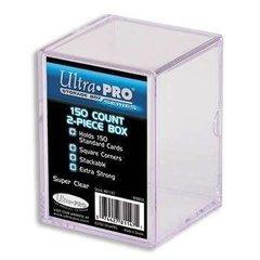 Ultra Pro 2-Piece Plastic Box 150-Count