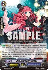 Duo Mini Heart, Rhone - Black - EB10/005EN-B - RR on Channel Fireball
