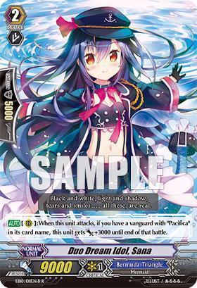 Duo Dream Idol, Sana - Black - EB10/011EN-B - R