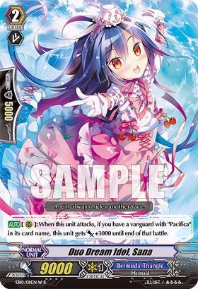 Duo Dream Idol, Sana - White - EB10/011EN-W - R