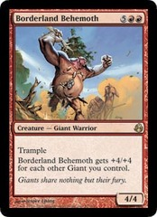 Borderland Behemoth on Channel Fireball