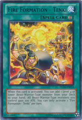 Fire Formation - Tenki - Green - DL18-EN014 - Rare - Unlimited Edition