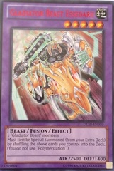 Gladiator Beast Essedarii - Red - DL18-EN010 - Rare - Unlimited Edition