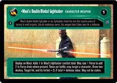 Maul's Double-Bladed Lightsaber