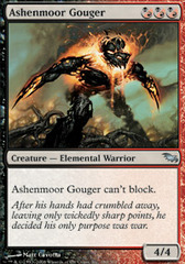 Ashenmoor Gouger on Channel Fireball