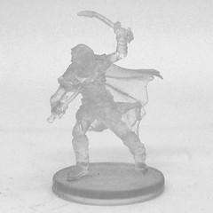 Drow Elf Ranger Drizzt (Invisible)