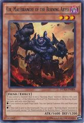 Cir, Malebranche of the Burning Abyss - DUEA-EN084 - Rare - Unlimited Edition