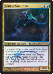 Geist of Saint Traft - Foil WMCQ Promo
