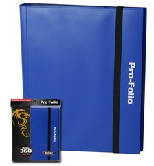 BCW Pro-Folio 9-Pocket - Blue