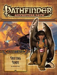 Pathfinder Adventure Path #81: Shifting Sands (Mummy's Mask 3 of 6)