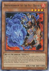 Brotherhood of the Fire Fist - Buffalo - MP14-EN015 - Rare - 1st Edition on Channel Fireball