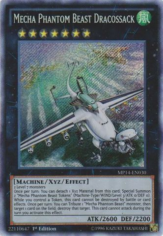 Mecha Phantom Beast Dracossack - MP14-EN030 - Secret Rare - 1st Edition