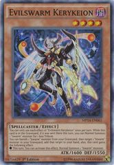 Evilswarm Kerykeion - MP14-EN061 - Super Rare - 1st Edition on Channel Fireball