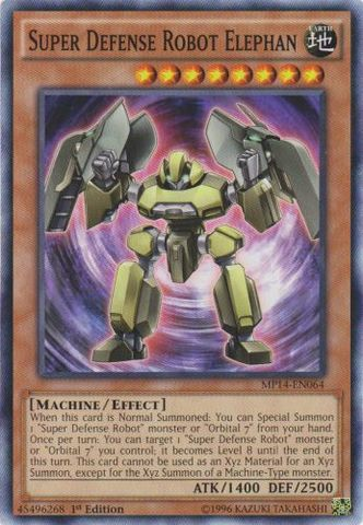 Super Defense Robot Elephan - MP14-EN064 - Common - 1st Edition