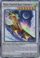 Mecha Phantom Beast Concoruda - MP14-EN093 - Super Rare - 1st Edition