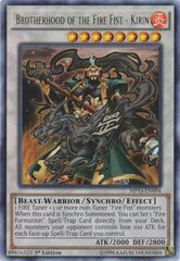 Brotherhood of the Fire Fist - Kirin - MP14-EN094 - Rare - 1st Edition