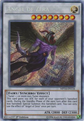 Angel of Zera - MP14-EN116 - Secret Rare - 1st Edition