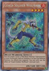 Coach Soldier Wolfbark - MP14-EN119 - Secret Rare - 1st Edition