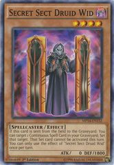 Secret Sect Druid Wid - MP14-EN132 - Common - 1st Edition