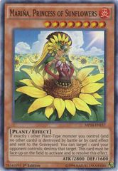 Mariña, Princess of Sunflowers - MP14-EN157 - Super Rare - 1st Edition