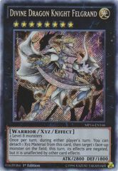 Divine Dragon Knight Felgrand - MP14-EN166 - Secret Rare - 1st Edition