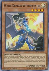 White Dragon Wyverburster - MP14-EN184 - Common - 1st Edition