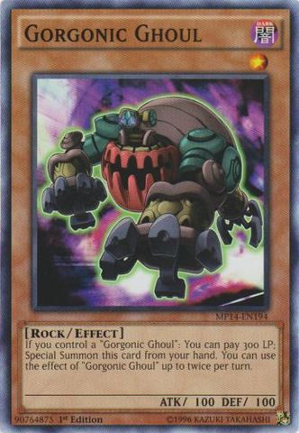 Gorgonic Ghoul - MP14-EN194 - Common - 1st Edition