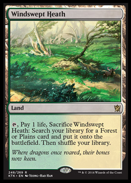 Windswept Heath - Foil