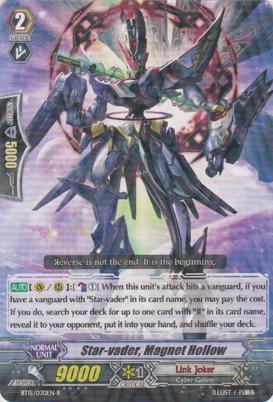Star-vader, Magnet Hollow - BT15/030EN - R