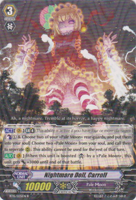 Nightmare Doll, Carroll - BT15/035EN - R