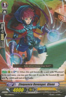 Eloquence Revenger, Glonn - BT15/048EN - C