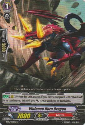 Violence Horn Dragon - BT15/061EN - C
