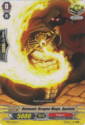 Demonic Dragon Mage, Apalala - BT15/064EN - C