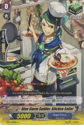 Blue Storm Soldier, Kitchen Sailor - BT15/094EN - C