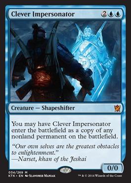 Clever Impersonator - Foil